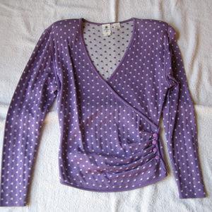 Ungaro Ter Vintage Designer Polka Dot Sweater